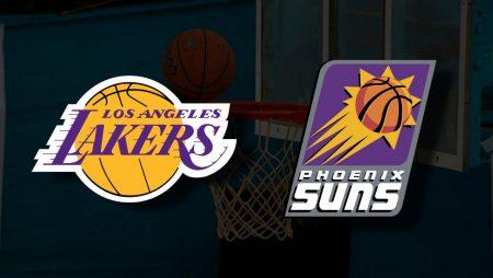 Apostas Los Angeles Lakers x Phoenix Suns Jogo 4 Playoffs NBA 30/05/21