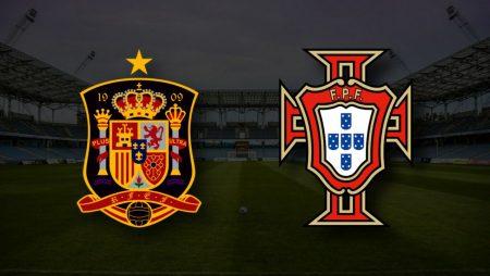 Apostas Espanha x Portugal Amistoso Internacional 04/06/21