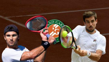 Apostas Marcos Giron x Guido Pella Roland Garros 02/06/21