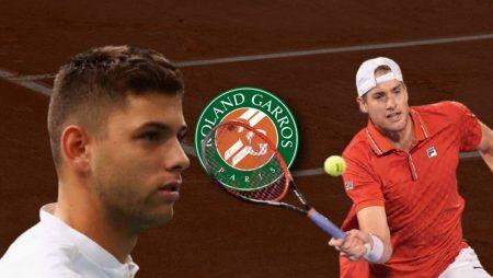Apostas Filip Krajinovic x John Isner Roland Garros 02/06/21