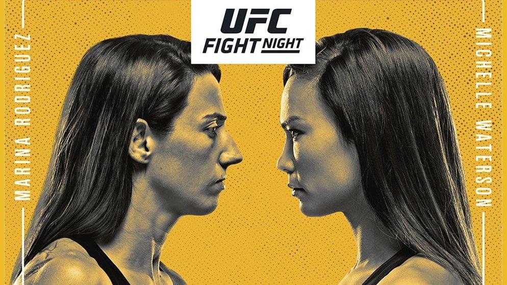 Apostas UFC Rodriguez x Waterson 08/05/21