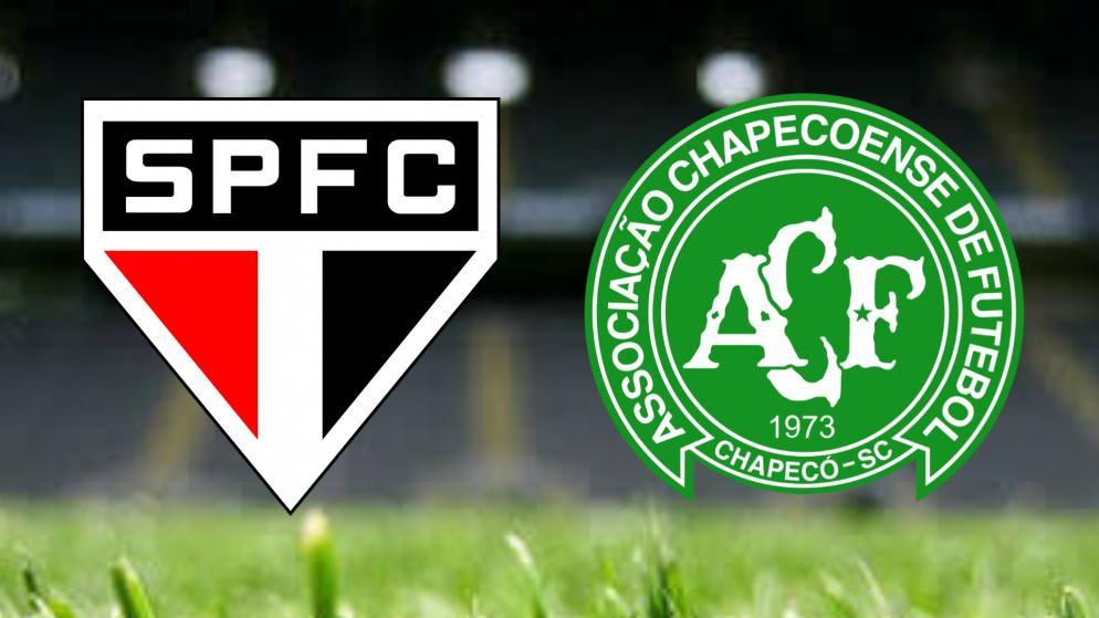 Apostas São Paulo x Chapecoense Brasileirão 16/06/21