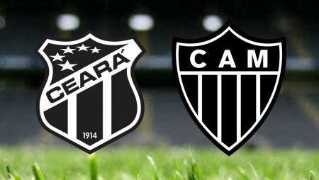Apostas Ceará x Atlético Mineiro Brasileirão 24/06/21