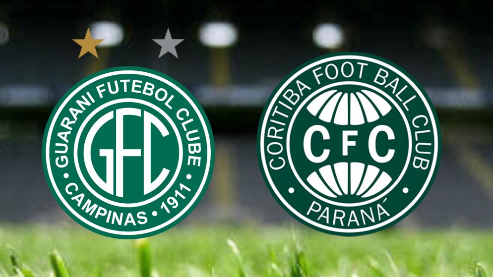 Apostas Guarani x Coritiba Brasileiro Série B 25/06/21