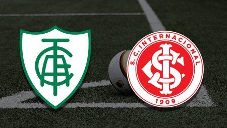 Apostas América Mineiro x Internacional Brasileirão 27/06/21