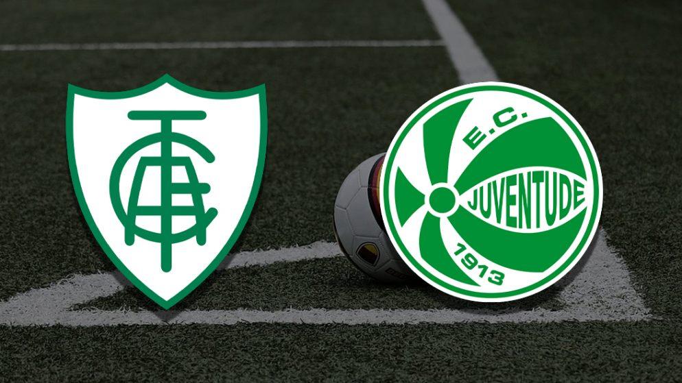 Apostas América Mineiro x Juventude Brasileirão 24/06/21