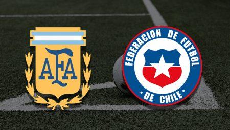 Apostas Argentina x Chile Copa América 14/06/21