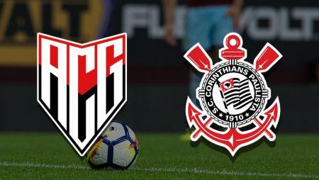Apostas Atlético Goianiense x Corinthians Copa do Brasil 09/06/21