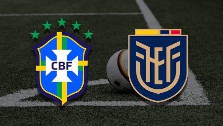 Apostas Brasil x Equador Copa América 27/06/21