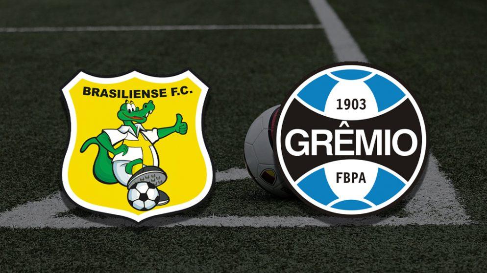 Apostas Brasiliense x Grêmio Copa do Brasil 10/06/21