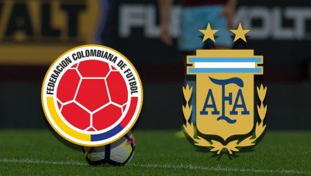 Apostas Colômbia x Argentina Eliminatórias 08/06/21