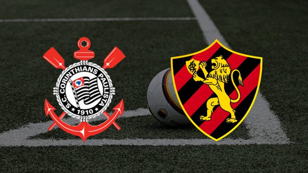 Apostas Corinthians x Sport Recife Brasileirão 24/06/21