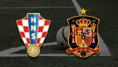Apostas Croácia x Espanha Euro 28/06/21