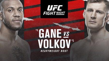 Apostas UFC Fight Night Gane x Volkov 26/06/21