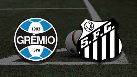 Apostas Grêmio x Santos Brasileirão 24/06/21
