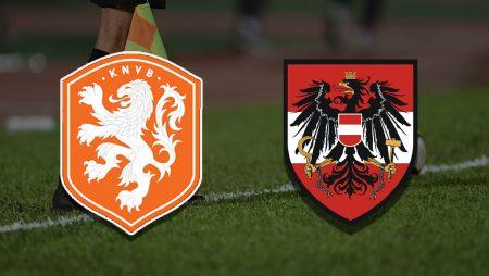 Apostas Holanda x Áustria Euro 17/06/21