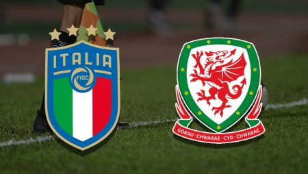 Apostas Itália x País de Gales Euro 20/06/21