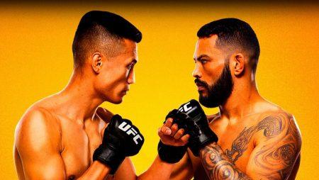 Apostas UFC Jung x Ige 19/06/21