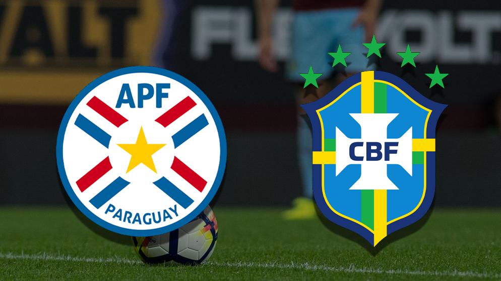 Apostas Paraguai x Brasil Eliminatórias 08/06/21