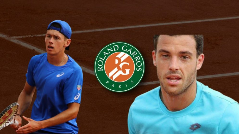 Apostas Alex de Minaur x Marco Cecchinato Roland Garros 03/06/21