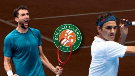 Apostas Marin Cilic x Roger Federer Roland Garros 03/06/21