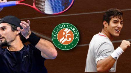 Apostas Marcos Giron x Cristian Garín Roland Garros 04/06/21