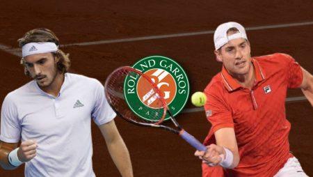 Apostas Stefanos Tsitsipas x John Isner Roland Garros 04/06/21