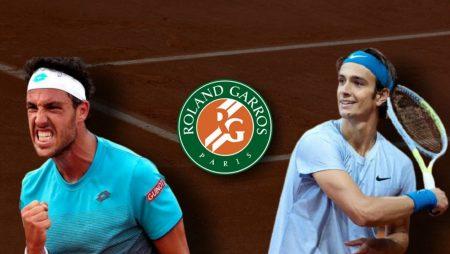 Apostas Marco Cecchinato x Lorenzo Musetti Roland Garros 05/06/21