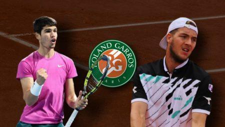 Apostas Carlos Alcaraz x Jan-Lennard Struff Roland Garros 05/06/21
