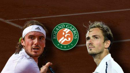 Apostas Stefanos Tsitsipas x Daniil Medvedev Roland Garros 08/06/21