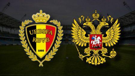 Apostas Bélgica x Rússia Euro 12/06/21