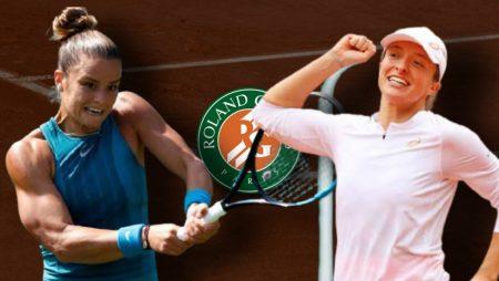 Apostas Maria Sakkari x Iga Swiatek Roland Garros 09/06/21