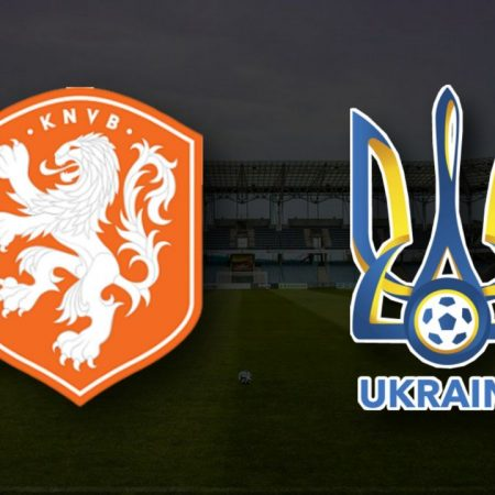 Apostas Holanda x Ucrânia Euro 13/06/21