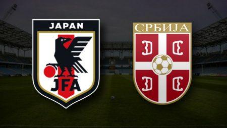 Apostas Japão x Sérvia Amistosos Internacionais 11/06/21