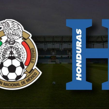 Apostas México x Honduras Amistoso Internacional 12/06/21