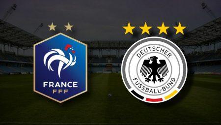 Apostas França x Alemanha Euro 15/06/21
