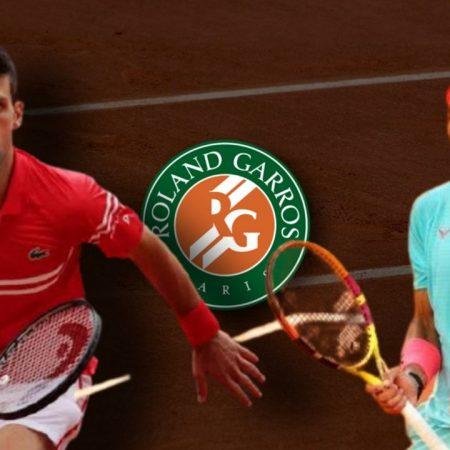 Apostas Novak Djokovic x Rafael Nadal Roland Garros 11/06/21