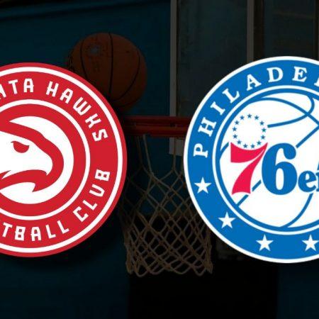 Apostas Atlanta Hawks x Philadelphia 76ers Jogo 6 Playoffs NBA 18/06/21