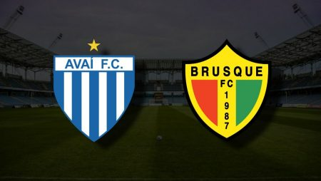 Apostas Avaí x Brusque Brasileiro Série B 13/06/21