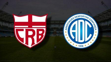 Apostas CRB x Confiança Brasileiro Série B 12/06/21