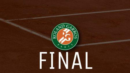 Apostas Novak Djokovic x Stefanos Tsitsipas Final Roland Garros 13/06/21