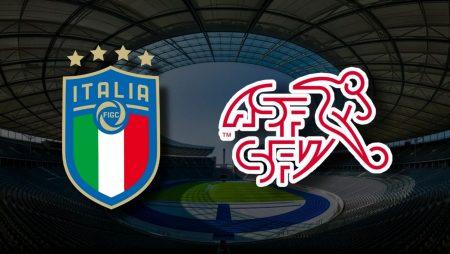 Apostas Itália x Suíça Euro 16/06/21