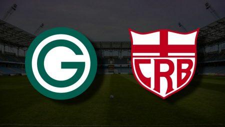 Apostas Goiás x CRB Brasileiro Série B 15/06/21