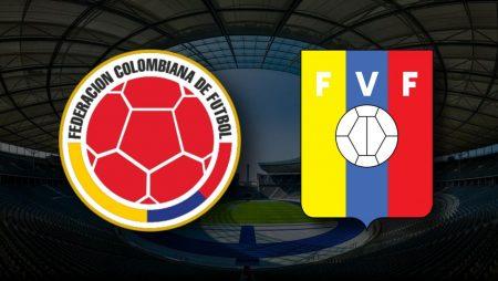 Apostas Colômbia x Venezuela Copa América 17/06/21