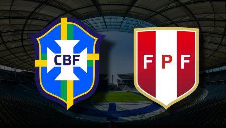 Apostas Brasil x Peru Copa América 05/07/21