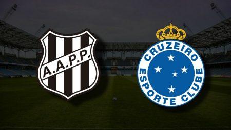 Apostas Ponte Preta x Cruzeiro Brasileiro Série B 16/06/21