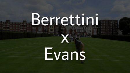 Apostas Matteo Berrettini x Daniel Evans ATP de Queen's 18/06/21