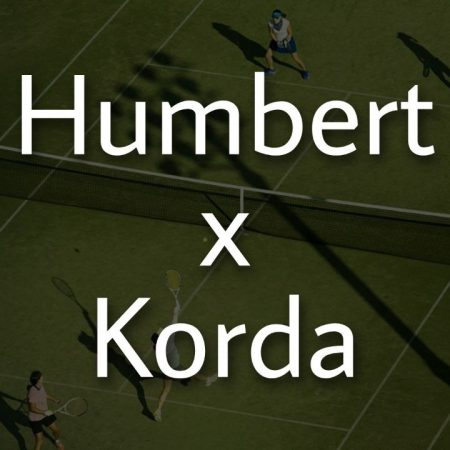Apostas Ugo Humbert x Sebastian Korda ATP de Halle 18/06/21