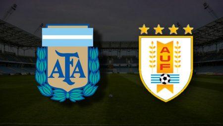 Apostas Argentina x Uruguai Copa América 18/06/21