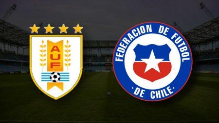 Apostas Uruguai x Chile Copa América 21/06/21